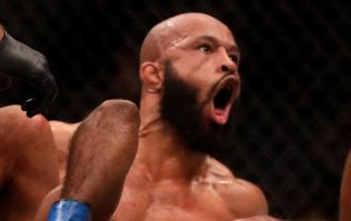 Demetrious Johnson's opportunistic prank was lost on just about everyone