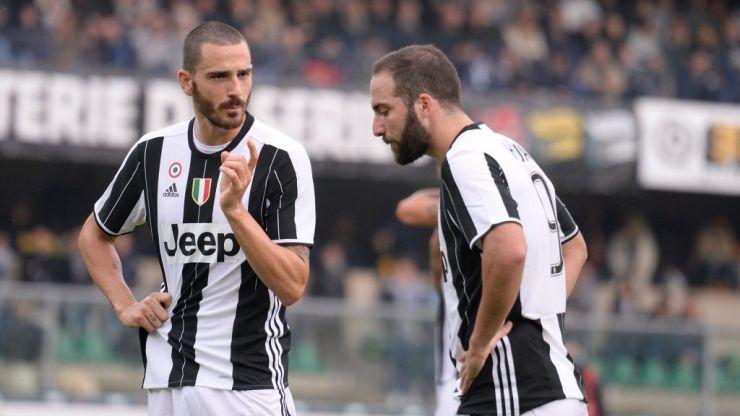 Leonardo Bonucci moves back to Juventus in three player deal