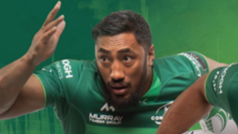 The new Connacht Rugby jersey is in shops tomorrow