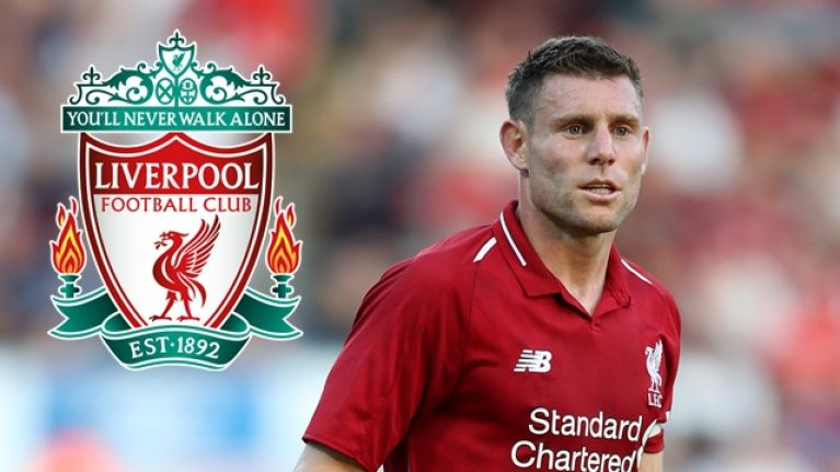 James Milner's comment when asked to play left-back for Liverpool was something else