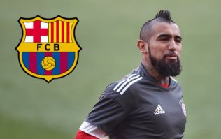 Arturo Vidal set for surprise switch to Barcelona