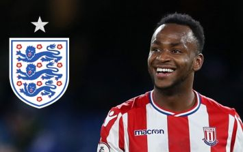 Saido Berahino has switched his international allegiance from England
