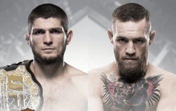 Conor McGregor will fight Khabib Nurmagomedov at UFC 229 in October