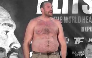 Tyson Fury even heavier than people thought for Klitschko fight