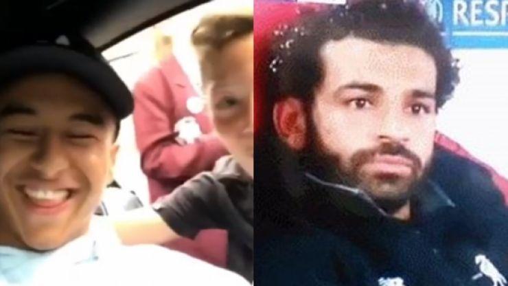 Jesse Lingard video of kickabout with kids resurfaces following Salah phone incident
