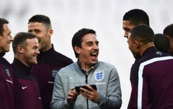 Gary Neville's brutal response to Arsenal supporter after Salford City jibe