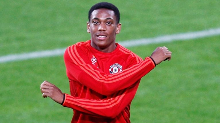 Jose Mourinho confirms that Anthony Martial has been fined