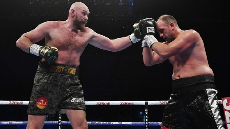 Tyson Fury had no intention of knocking opponent out early