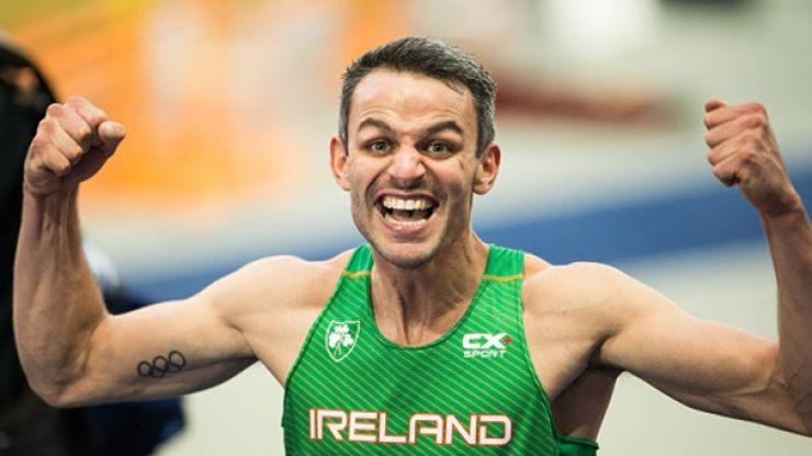 'I can finally stop living off that fourth place at the Olympics' - Thomas Barr
