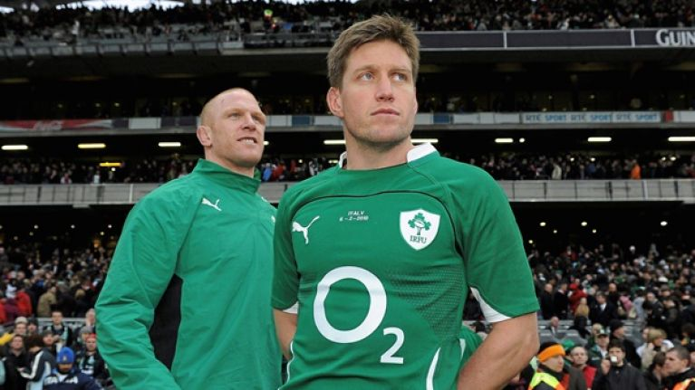 Ronan O'Gara to be inducted into the World Rugby Hall of Fame