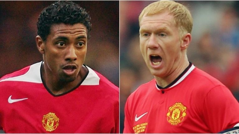 Paul Scholes and Kleberson are playing a charity match in Bray next month