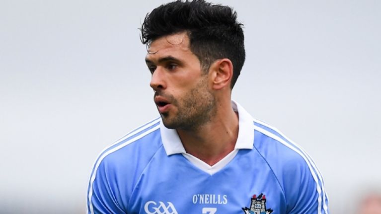Cian O'Sullivan could be set for the rarest occurrence of his GAA career