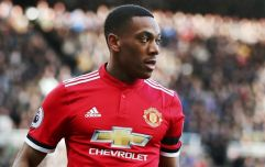 Anthony Martial's face when Fellaini replaced Pogba speaks volumes