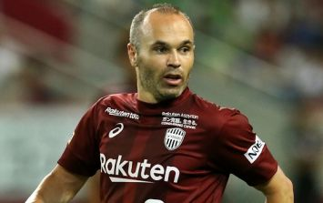 Andres Iniesta's first goal in Japan was like Bergkamp's cracker against Newcastle