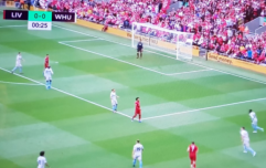 Liverpool fans had a lot to say about the new camera angle at Anfield