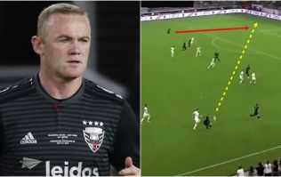 Wayne Rooney rolls back the years with injury time tackle and stunning assist