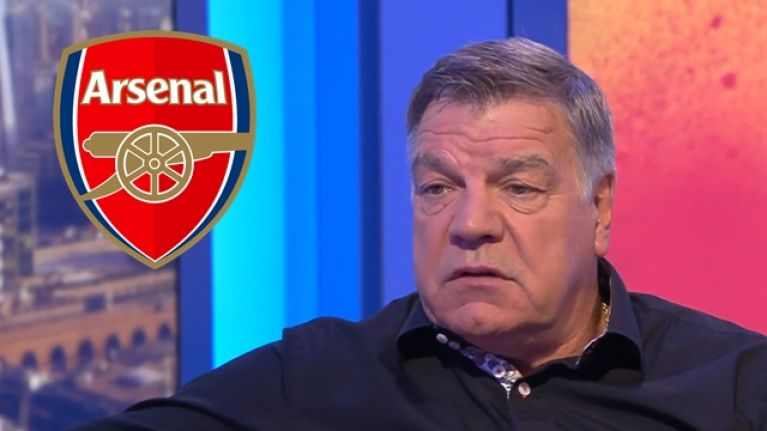 "Sam Allardyce hits out at Arsenal's ""stupid"" possession-based football"