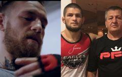 Khabib Nurmagomedov's father offers his prediction for Conor McGregor fight