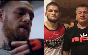 Khabib Nurmagomedov's father offers his prediction for Conor McGregor fight