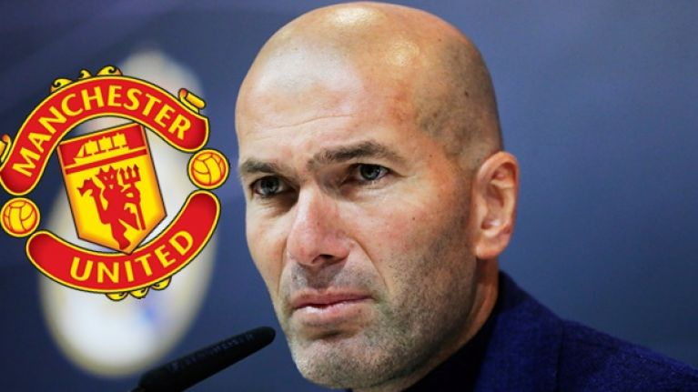 Zinedine Zidane makes known United intentions