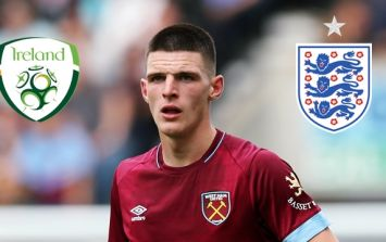 Martin O'Neill to hold a meeting with Declan Rice amid interest from England