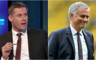Jamie Carragher reveals what Jose Mourinho told him after losing Chelsea job