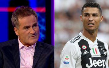 Richard Keys' misjudged tweet about Cristiano Ronaldo backfires