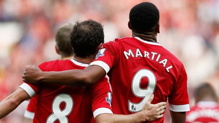 Tottenham reportedly wanted Anthony Martial and Juan Mata this summer