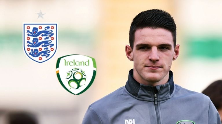 Robert Redmond: You can't blame Declan Rice for wanting to play for England