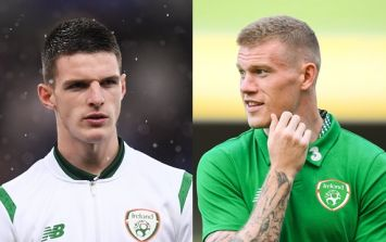 James McClean has his say on Declan Rice situation