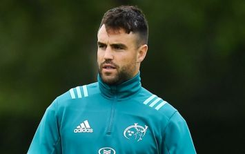 Conor Murray out 'short term' as replacement arrives until January