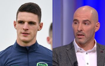 """Monumental bollocks"" - Richie Sadlier on Kevin Kilbane's comments about Declan Rice"