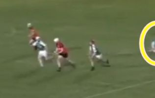 Waterford hurler performs the most graceful, instinctive pick up in quarter final