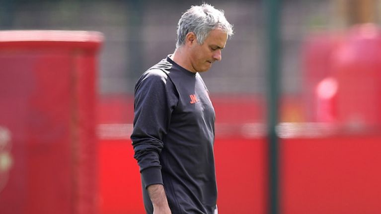 Jose Mourinho's absence from training must mean he's getting sacked... right?