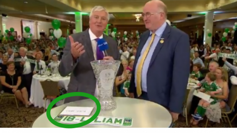 Unfortunate error occurs as Michael Lyster announces Man Of The Match award