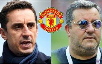 Gary Neville advises Paul Pogba's agent to 'shut up' after Paul Scholes insults