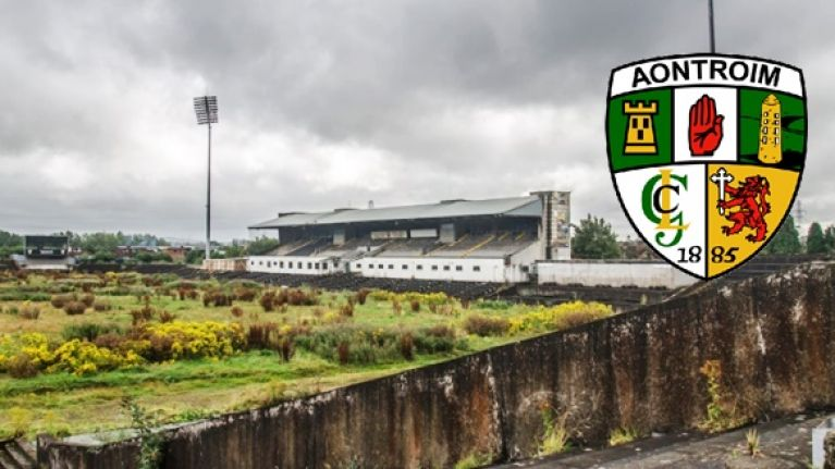Antrim GAA have message for GAA over sorry state of county grounds