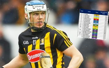 TJ the provider in chief as only one goalie makes hurling's top ten assist makers