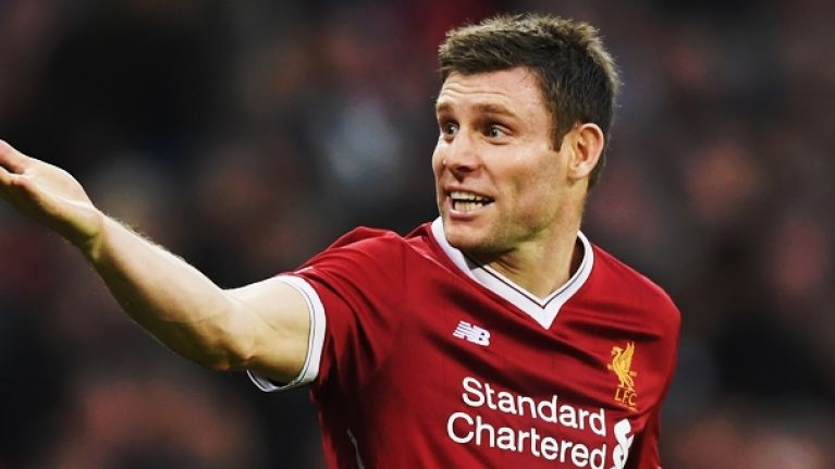 James Milner's dream 5-A-Side has a considerably ropey defence