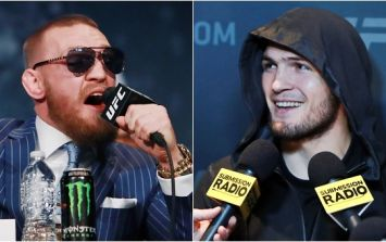 Only one press conference being held for McGregor-Khabib, and it's not in Dublin