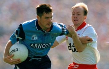 Tyrone were done out of it in 1995 final by the rule that's still ignored in the GAA