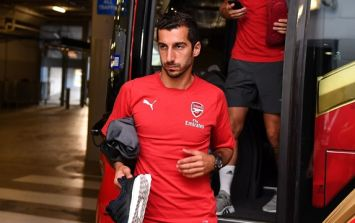 Henrikh Mkhitaryan might not be allowed to play in one of Arsenal's Europa League matches for political reasons