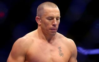 Georges St-Pierre's new physique has a lot of people jumping to conclusions