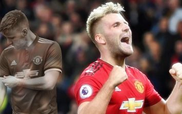 Luke Shaw denies those rumours about his fizzy drink habits
