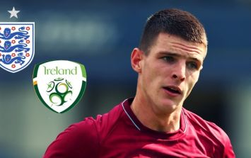 "Declan Rice to ""release statement on his international future"" next week"