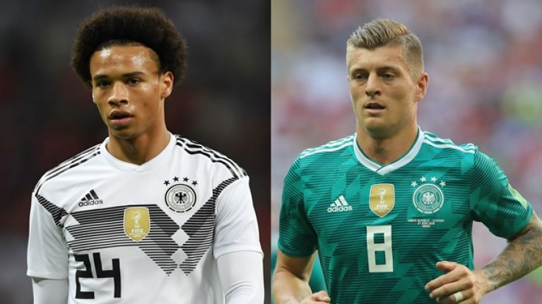 wholesale dealer 53c80 58d96 Toni Kroos claims Leroy Sane doesn't care whether Germany ...