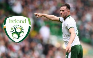Alan Browne ruled out of Wales match with injury