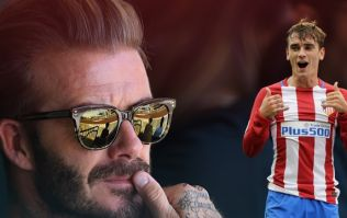 Antoine Griezmann is willing to join David Beckham's MLS franchise
