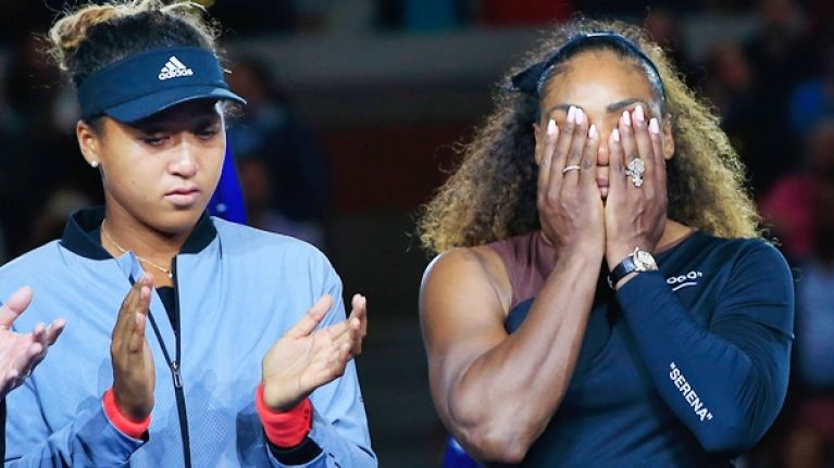 Serena Williams accuses umpire of sexism after receiving three code violations