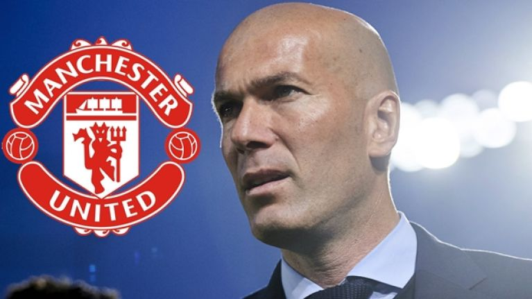 Zinedine Zidane has reported list of transfer targets in preparation for Man United job